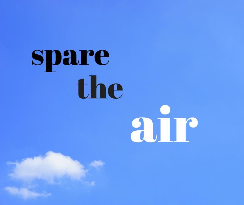spare the air