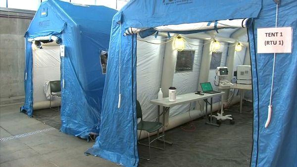 Solar Generator for Drive-Thru Virus Testing