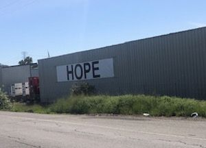 Hope Banner at CD & Power