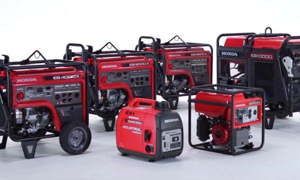 Industrial portable generator