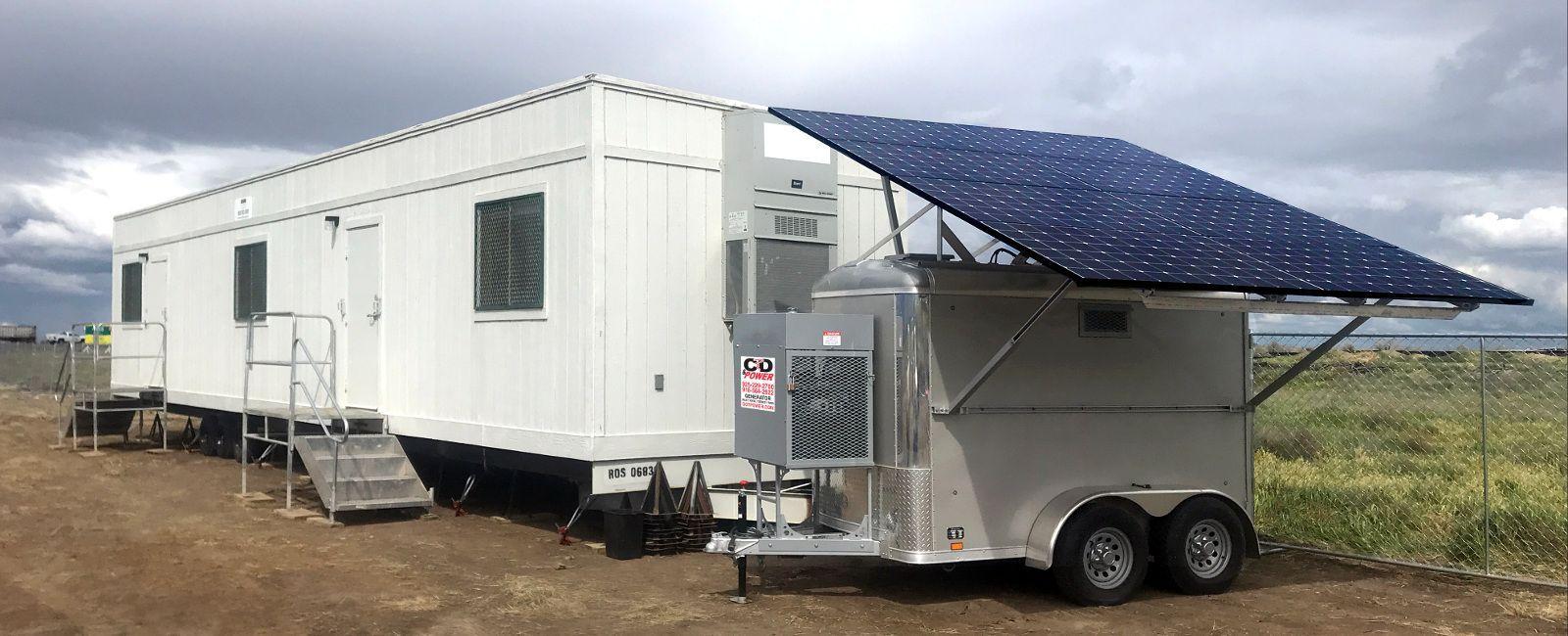 towable solar power